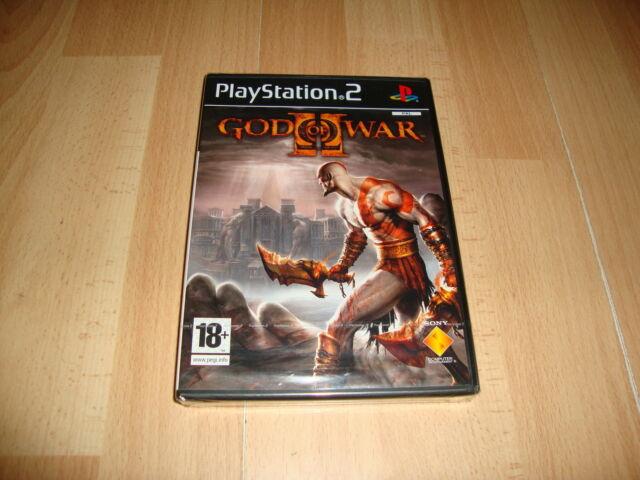 GOD OF WAR II PARA LA SONY PS2 VERSION ORIGINAL NUEVO PRECINTADO