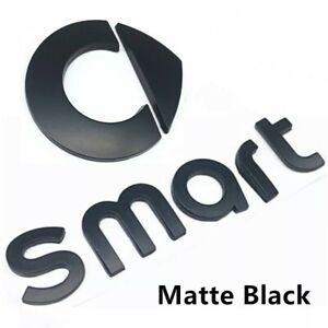 scritta logo fregio emblema adesivo stemma marchio nero smart
