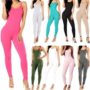 c228aaa58b Image is loading Trousers-Bodycon-Summer-Jumpsuit-Women-Clubwear-Playsuit- Romper-