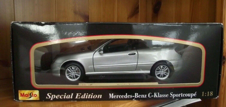 MAISTO - SPECIAL EDITION MERCEDES-BENZ C-KLASSE SPORTCOUPE  - 1 18 SCALE  BOXED