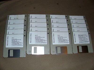 20 Floppy Disc Microsoft Office Lot Verkoopprijs