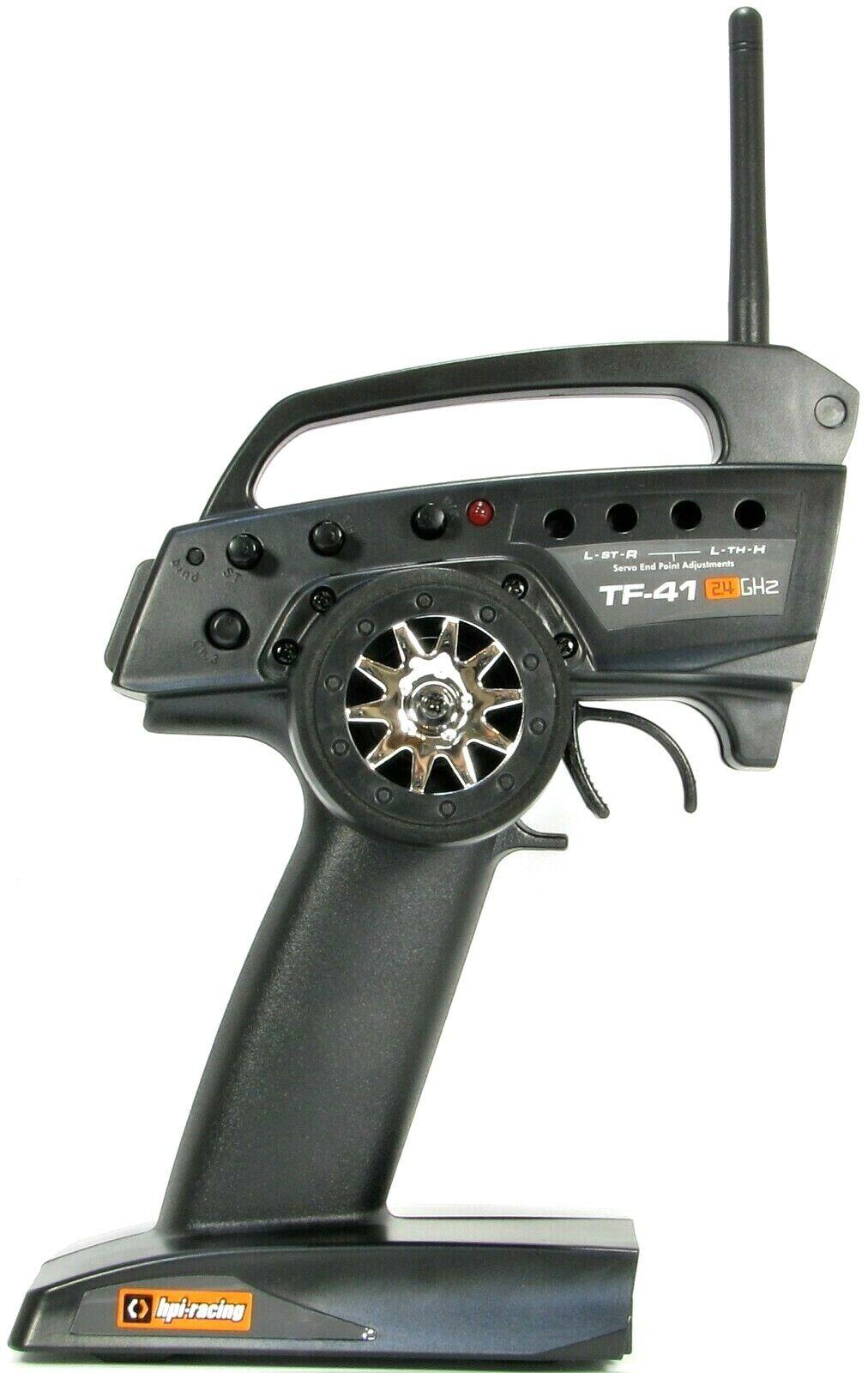 HPI TF-41  2.4GHz Radiocouomodo Trasmettitore (parte  120043)  vendita calda