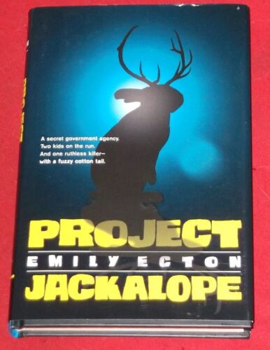 1 of 1 - PROJECT JACKALOPE ~ Emily Ecton ~ LIKE NEW ~ NOT READ ~ HARDCOVER D/J