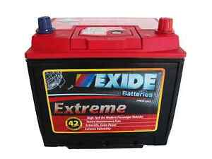 Image Is Loading EXIDE EXTREME X55D23CMF Premium Car Battery For Honda