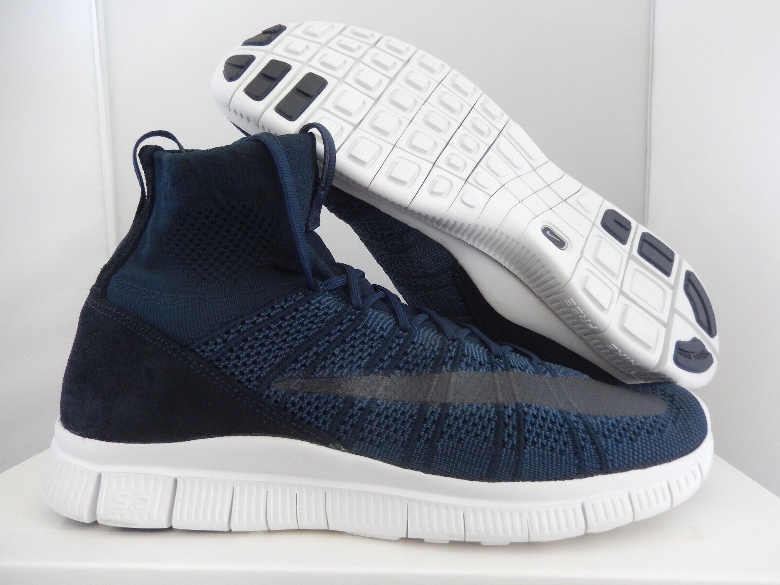 NIKE FREE MERCURIAL SUPERFLY SP DARK OBSIDIAN NAVY blu SZ 11 [667978-441]