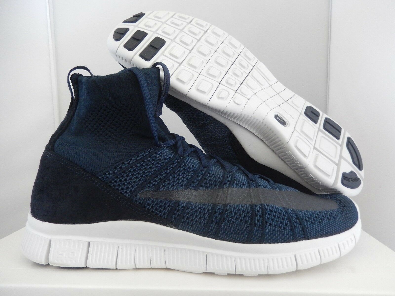 NIKE FREE MERCURIAL SUPERFLY SP DARK OBSIDIAN NAVY BLUE SZ 10 [667978-441]