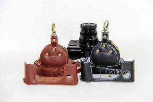 Genuine Leather Half Camera Bottom Case For Fujifilm Fuji X-Pro 2 Xpro 2 Xpro2