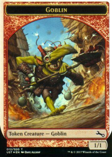 Goblin Token FOILNM//MUnstableMagic MTG