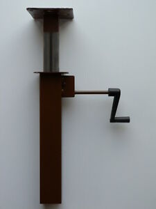 Details about Table Lift with CRANK-mechanism for height-adjustable tables  (hi-lo tables)