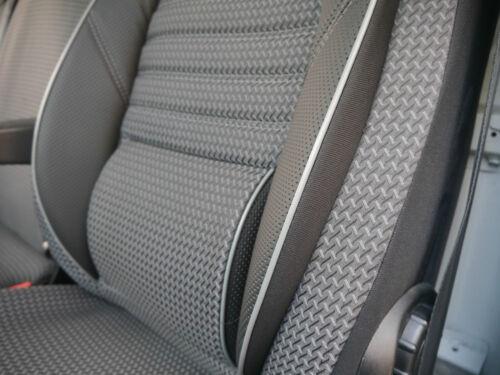 Sitzbezüge Schonbezüge nach Maß für VW T5 T6 mit zwei Einzelsitzen Multivan