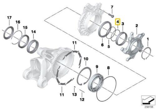 BMW K25 K26 K27 K28 K29 K32 K40 O-RING 62X2-N-FPM 80 071199071 29