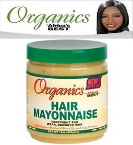 Africa-039-s-Meilleur-Organique-Cheveux-Mayonnaise-Traitement-For-Weak-Damaged-426g