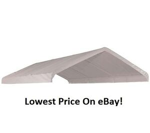 Image is loading 10x20x9-039-6-034-ShelterLogic-Replacement-Canopy-Top-  sc 1 st  eBay & 10x20x9u00276