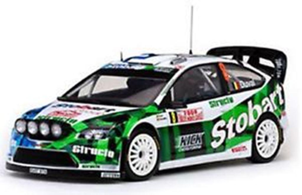 SUNSTAR 3919 3923 3942 Ford Focus WRC diecast rally cars 2007 2008 2009 1 18th