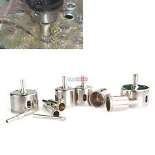 15pcs Diamond tool drill bit hole saw set for glass ceramic marble 6-50mm sea