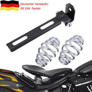 3-039-039-Solo-Sitz-Sitzfedern-Bracket-Montage-Halter-fuer-Harley-Chopper-Bobber-Custom
