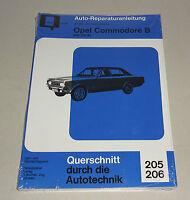 Reparaturanleitung Opel Commodore B - GS, GS/E - 1972 bis 1977!