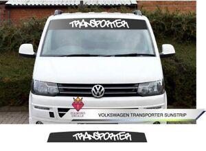 VW-Sun-Strip-Transporter-Van-T4-T5-T6-Decals-Volkswagen-Any-Colour-Custom