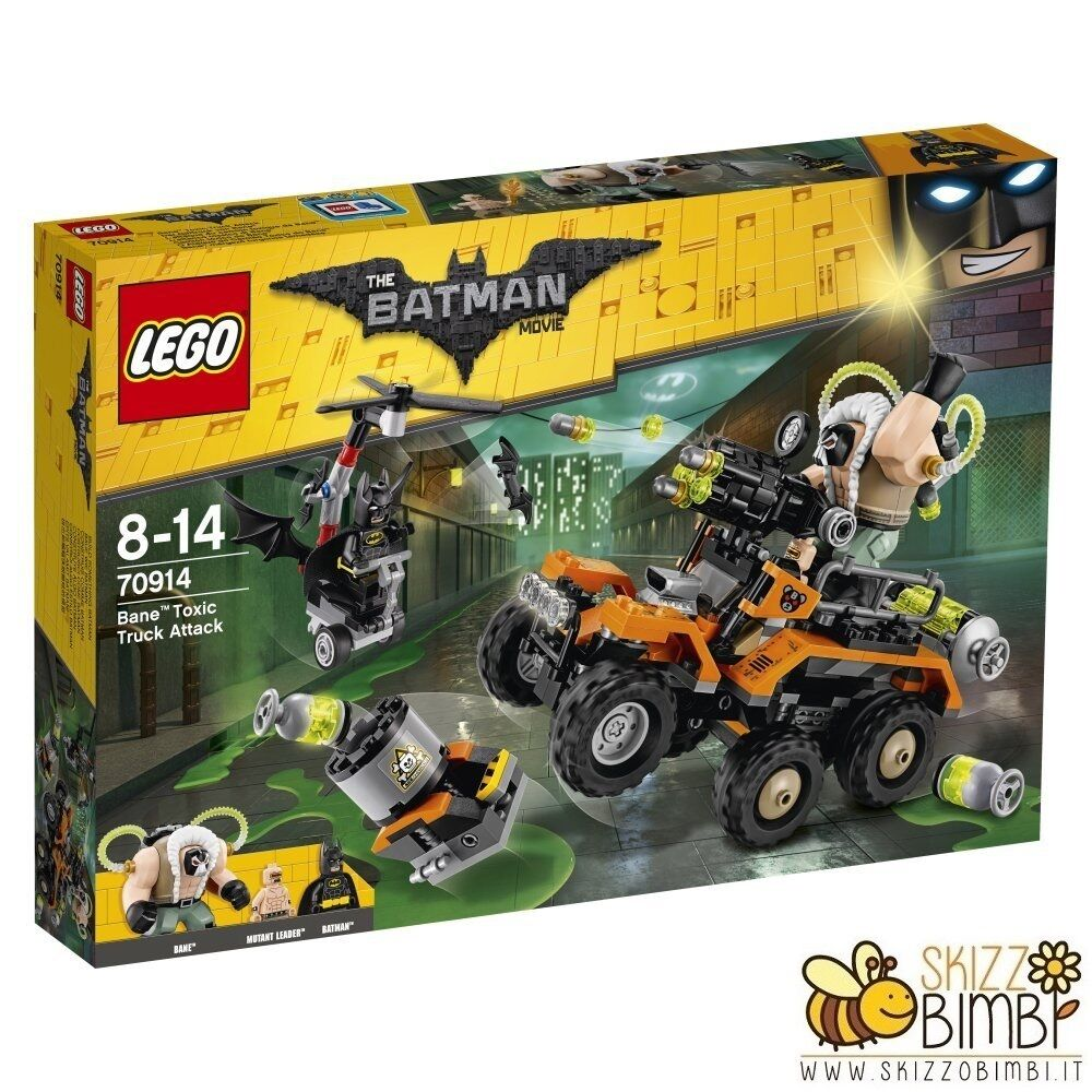 Lego Batman Movie L'attacco tossico di Bane