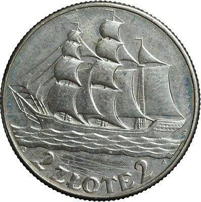 Poland 2 zloty 2005 Sailing Vessel 5 zloty of 1936 issue #1361