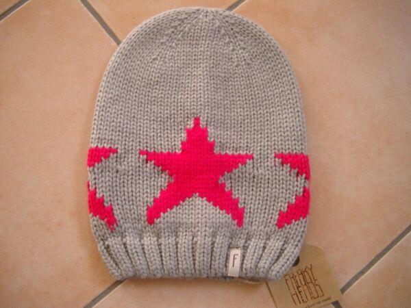 (101) Bambini Berretto Freaky Testa Beanie Inverno Berretto Big Star Con Logo Flag Gr.51