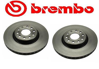 Set of 2 Brembo Front Brake Rotors 312mm Diameter Audi & Volkswagen