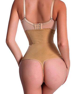 Sexy High Waist Tummy Control Thong Women Corset Cincher Body Shaper Underwear