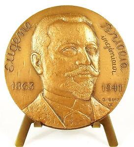 Medaglia-Componente-Della-Char-Eugene-Brillie-Record-Gobron-Brillie-1904-Medal