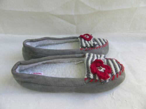 New Women/'s Bongo House Slippers Style 98072 Gray  3E