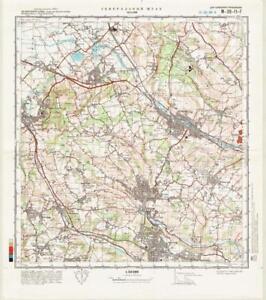Russian Soviet Military Topographic Maps Chesham Uk