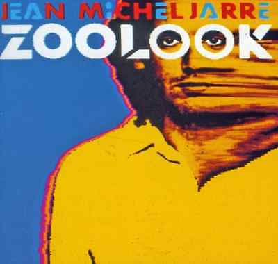 "JEAN-MICHEL JARRE ""Zoolook"" (CD 1984) 7-Tracks Belew ***GREAT SHAPE*** OOP"