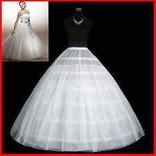 NEU Reifrock Unterrock 2 Lagig 6 Ringe Reifen Klassiker Hochzeit Braut Petticoat