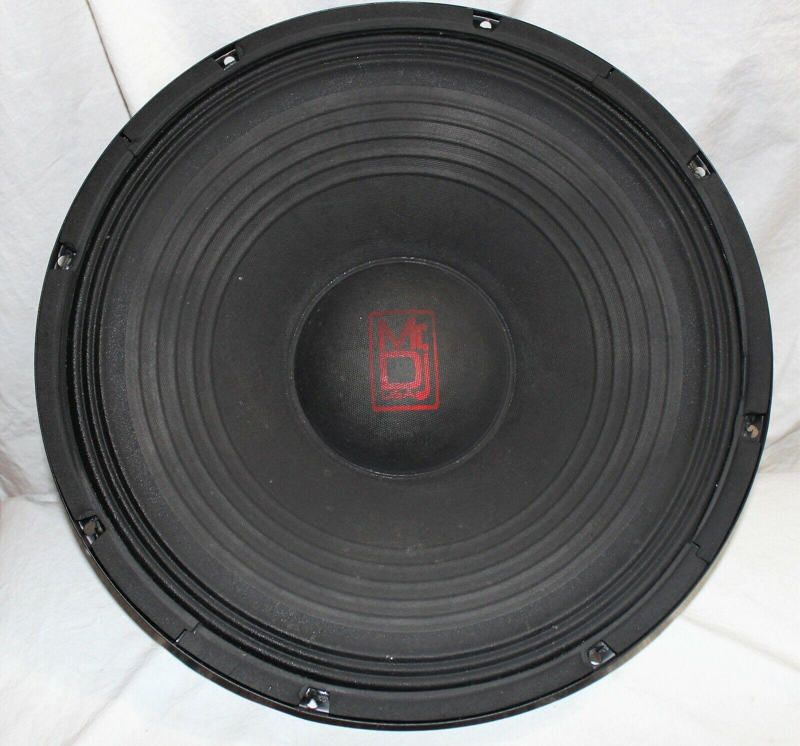 Mr DJ PBX-2600 15  speaker driver tested great shape
