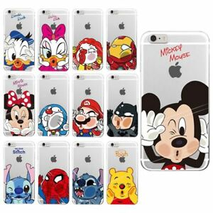 Character case cover iPhone 8 7 6s 6