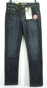 New-Signature-Levi-Mens-Modern-Fit-Skinny-Stretch-Med-Blue-Denim-Jeans-30-x-32