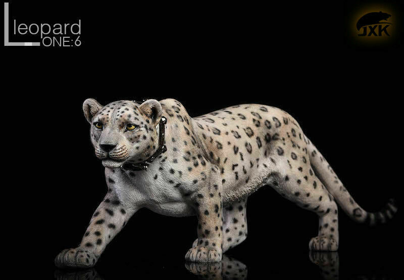 JXK Leopard modellololo Fluoresced Eyes Animal giocattolo JxK009B 1 6  Scale  alta qualità e spedizione veloce