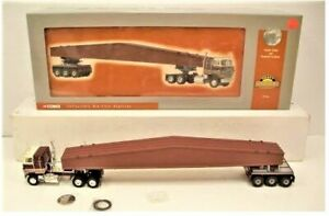 Corgi-51401-Heavy-Hauler-International-Transtar-amp-Beam-w-Bogie-1-50-LN-in-Box