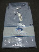 Dscp Quarterdeck Collection Men's Large Short Sleeve Shirt Us Navy Blue