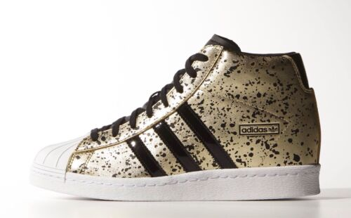 adidas Originals adidas Originals Black Suede Superstar Up Metal
