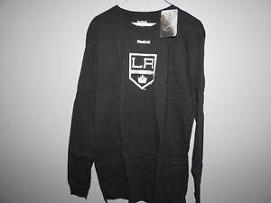 Fast Deliver Reebok Nhl Mens Los Angeles Kings Hockey Shirt Nwt S L M