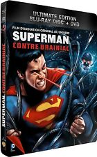 SUPERMAN AGAINST BRAINIAC - Limited Edition Blu-Ray / Dvd Steelbook -