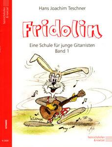Hans-Joachim-Teschner-Fridolin-Eine-Schule-fuer-junge-Gitarristen-Band-1-Noten