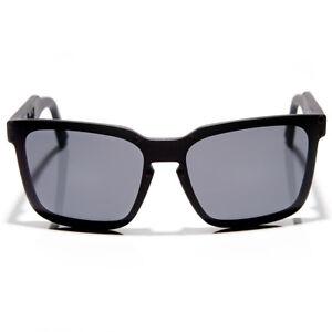 New-Dragon-Mansfield-Sunglasses-Matte-Black-Grey-Lens-720-2170-RRP-200