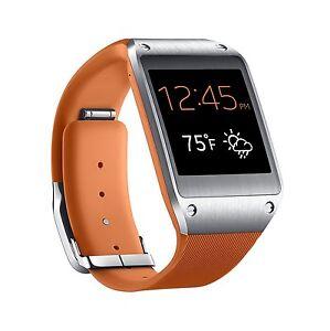 Samsung Galaxy Gear Sm V700 Orange Bluetooth Smart Watch 1 63