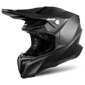 Ambitieux Airoh Torsion Noir Mat Moto Mx Enduro Hors Route Moto Casque Nombreux Dans La VariéTé