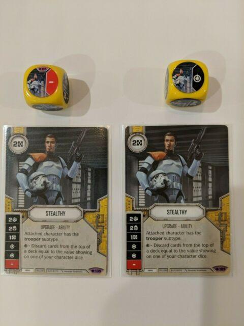 Mint//NM Star Wars Destiny Spirit of Rebellion SW Fantasy Flight G Force Speed