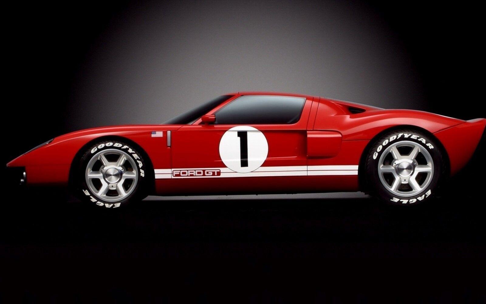 Car Ford GT Sport Sport Sport 24 Race  GT40 1 18 f gp 12 Carousel Red 1969 c3029c