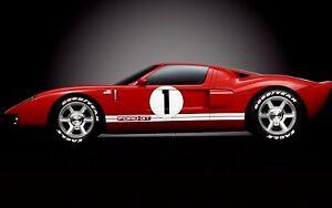 A GT Ford Built GT40 Sports Car 1 Race T 18 Vintage 25 Concept 24 Model 12