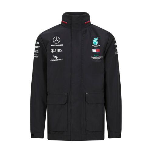 OFFICIAL NEW 2020 Mercedes AMG F1 Lewis Hamilton Team Rain Jacket Coat MENS