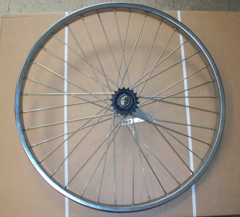 26 X 2.125 beach cruiser REAR coaster wheel COASTER BRAKE